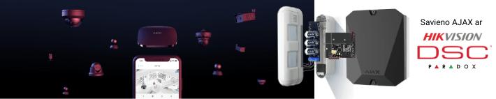 AJAX-drošības sistēma - integrācija